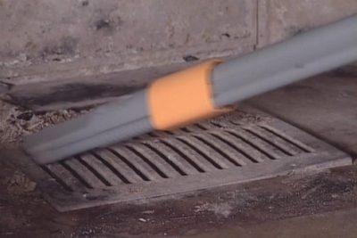 Cleanstar UNITEKNO - Beispiel Chemine-Reinigung